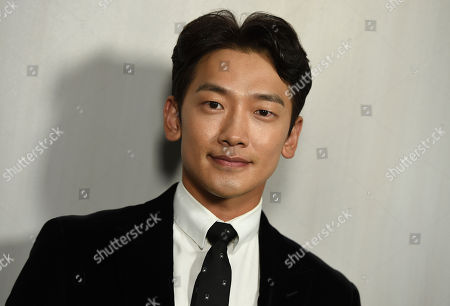 Stock Picture of Jung Ji-hoon, Rain. Jung Ji-hoon, also known as Rain, arrives at the 16th Annual Hammer Museum Gala in the Garden on in Los Angeles