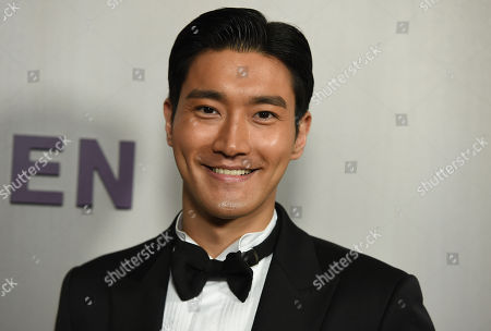 Choi Siwon arrives at the 16th Annual Hammer Museum Gala in the Garden on in Los Angeles