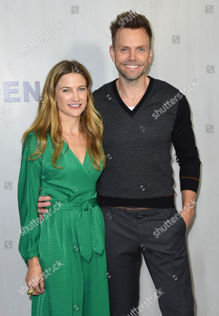 Sarah Williams, Joel McHale. Sarah Williams and Joel McHale arrive at the 16th Annual Hammer Museum Gala in the Garden on in Los Angeles