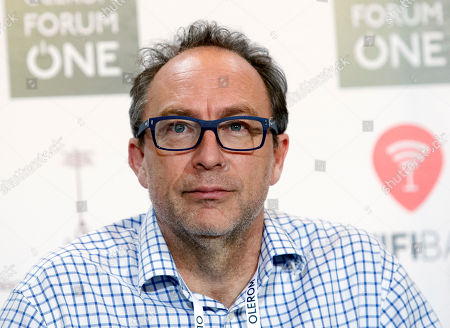 Co-founder of the online non-profit encyclopedia Wikipedia, Jimmy Wales