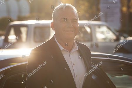 The deputy leader of the German Christian Democratic Union (CDU) party, Thomas Strobl, arrives for a meeting of the Christian Democratic Union presidium at the CDU headquarters, the Konrad-Adenauer-Haus, in Berlin, Germany, 15 October 2018.