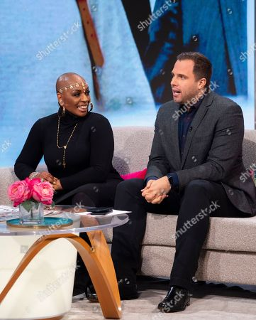 Stock Picture of Janice Robinson and Dan Wooton