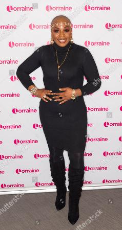 Editorial photo of 'Lorraine' TV show, London, UK - 15 Oct 2018