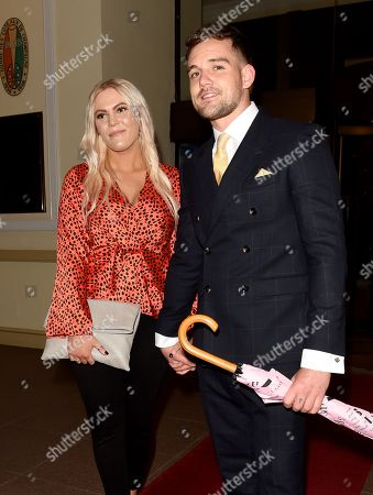 Stock Picture of Sophie Coates and James Burrows