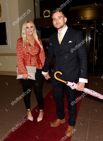 Stock Image of Sophie Coates and James Burrows