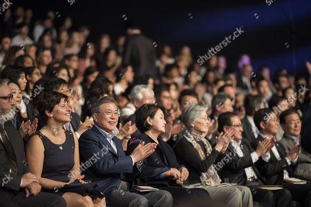 Editorial photo of Korean Cultural Event, Paris, France - 14 Oct 2018
