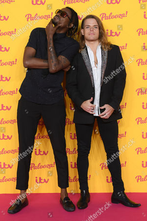 Stock Picture of Olatunji Yearwood and Giovanni Spano