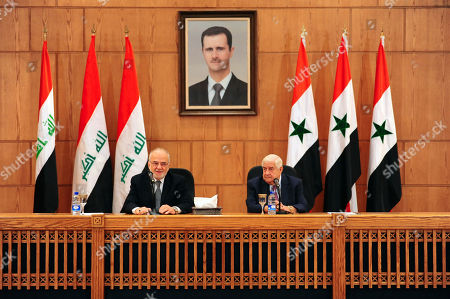 Editorial picture of Iraq, Damascus, Syria - 15 Oct 2018