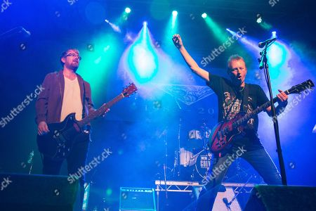 Editorial photo of Big Country in concert at O2 Academy, Newcastle, UK - 13 Oct 2018