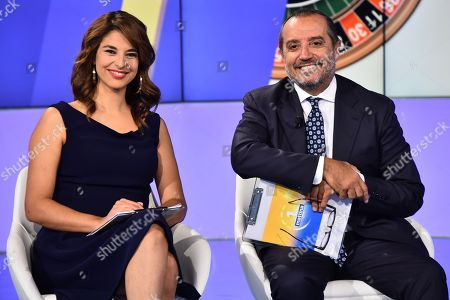 Editorial picture of 'Uno Mattina' TV show, Rome, Italy - 15 Oct 2018
