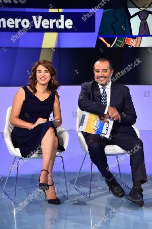 Stock Photo of Benedetta Rinaldi and Franco di Mare