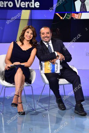 Editorial image of 'Uno Mattina' TV show, Rome, Italy - 15 Oct 2018