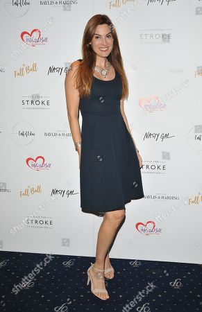 Editorial image of The Fall Ball in aid of the Style for Stroke Foundation, London, UK - 14 Oct 2018