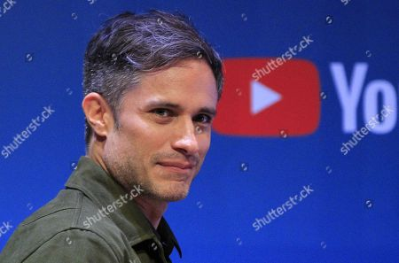 Mexican actor Gael Garcia Bernal attends a press conference to present the film 'Museo' at the Museum of Anthropology in Mexico City, Mexico, 15 October 2018. Garcia said that the shooting of the film by Alonso Ruizpalacios, was an opportunity 'that is not going to repeat itself' to live with archaeological pieces loaded with history, which, he jokes, made them acquire 'superpowers' to the project participants.