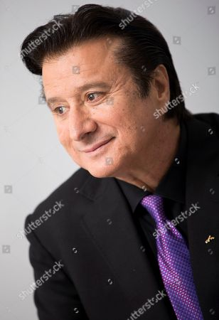 """Stock Image of This photo shows singer Steve Perry posing for a portrait in New York to promote """"Traces,"""" his first album almost 25 years"""
