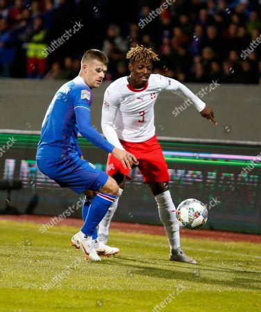 Editorial photo of Switzerland Nations League Soccer, Reykjavik, Iceland - 15 Oct 2018