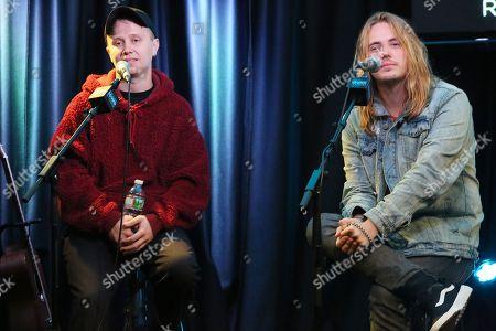 Nothing But Thieves - Conor Mason and Joe Langridge-Brown