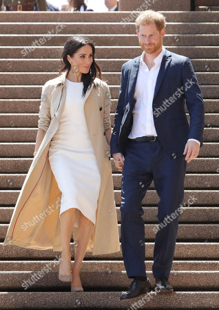 Prince Harry and Meghan Duchess of Sussex tour of Australia, Day 1