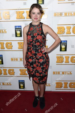 "Laura Slade Wiggins attends the LA premiere of ""Big Kill"" at ArcLight Hollywood, in Los Angeles"