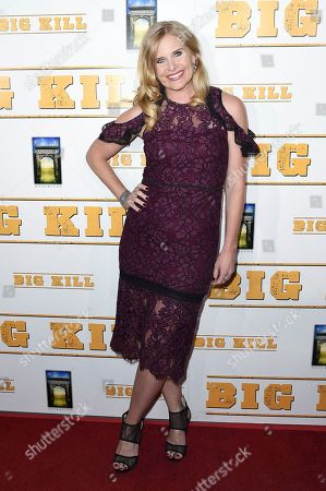 """Audrey Walters attends the LA premiere of """"Big Kill"""" at ArcLight Hollywood, in Los Angeles"""