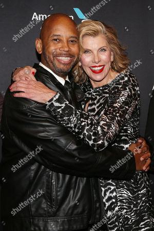 Michael Boatman and Christine Baranski