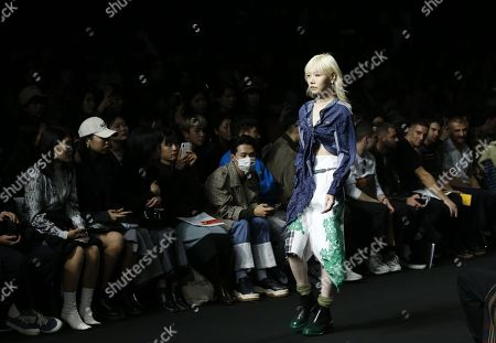 Editorial photo of R.Shemiste - Runway - Seoul Fashion Week S/S 2019, Korea - 16 Oct 2018
