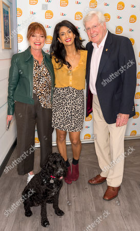 Peter Purves, Janet Ellis and Konnie Huq