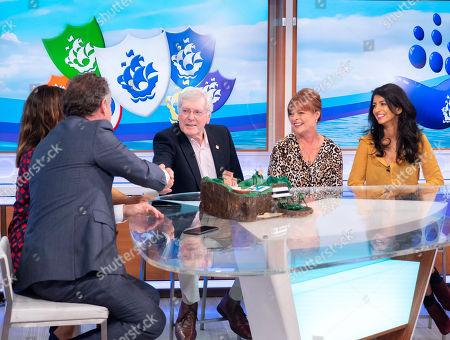 Piers Morgan, Susanna Reid, Peter Purves, Janet Ellis and Konnie Huq