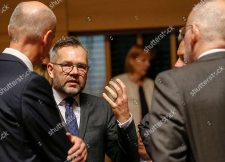 Editorial photo of General Affairs Council, Luxembourg - 16 Oct 2018