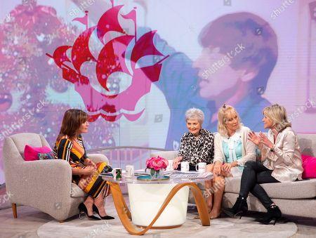 Lorraine Kelly with Leila Williams, Sarah Greene and Anthea Turner