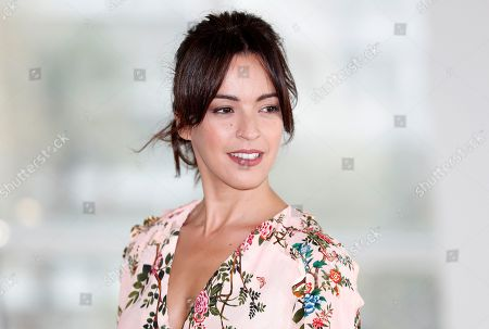 Spanish actress Veronica Sanchez poses during a photocall for the TV series 'The Pier' at the annual MIPCOM television content market in Cannes, France, 16 October 2018. The media event runs from 15 to 18 October.