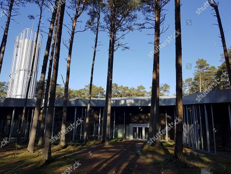 View of the Arvo Part Centre in Laulasmaa, Estonia, 15 October 2018. (issued 16 October) The Arvo Part Centre was designed by architects Fuensanta Nieto and Enrique Sobejano and introduces Estonian composer Arvo Part?s creative heritage. The centre was built in a area of Laulasmaa, about 40 kilometres from the Estonian capital, Tallinn, and will be open for visitors on 17 October 2018.