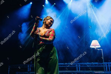 Stock Picture of Elli Ingram plays Southampton Guildhall in support of Tom Grennan