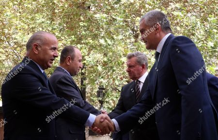 Editorial picture of Prime Minister of Crimea visits Syria, Damascus - 16 Oct 2018