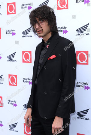 Editorial image of The Q Awards, Roundhouse, London, UK - 17 Oct 2018