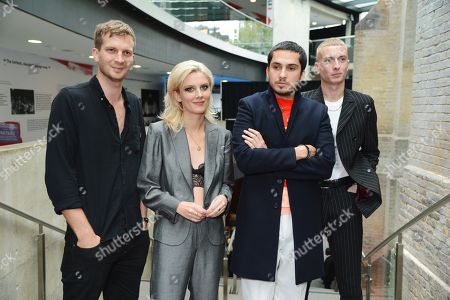 Joff Oddie, Ellie Rowsell, Joel Amey and Theo Ellis of Wolf Alice