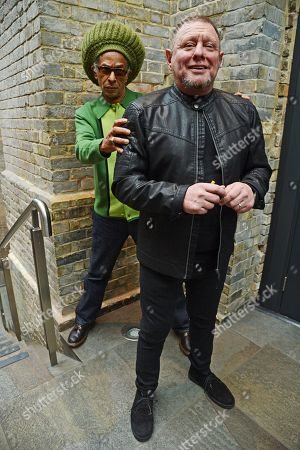 Don Letts and Shaun Ryder
