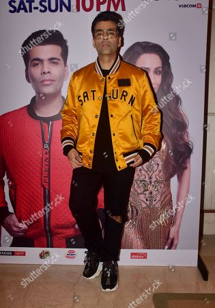 Indian film Producer/Actor/Director Karan Johar