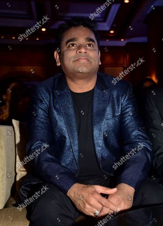 Stock Image of Indian music director AR Rahman