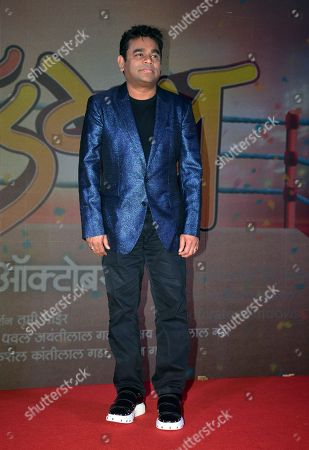 Indian music director AR Rahman