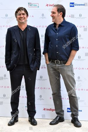 Riccardo Scamarcio and Valerio Mastrandrea