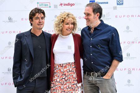 Riccardo Scamarcio Valeria Golino and Valerio Mastrandrea