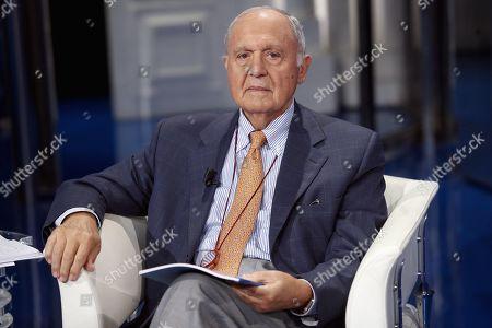 Italian Minister of European Politics Paolo Savona