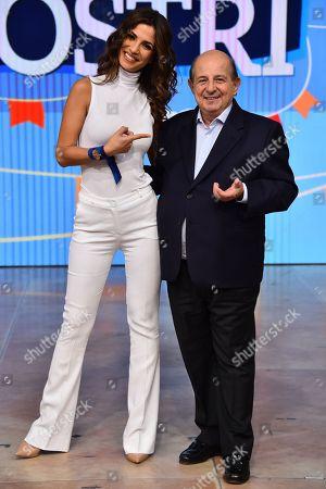 Roberta Morise and Giancarlo Magalli