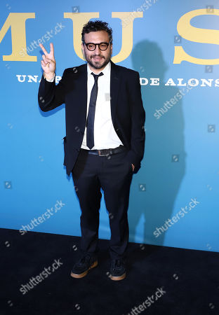Editorial image of 'Museum' film premiere, Mexico City, Mexico - 15 Oct 2018