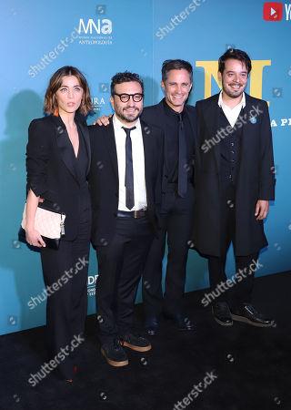 Ilse Salas, Alonso Ruizpalacios, Leonardo Ortizgris, Gael Garcia