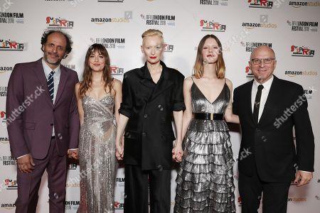 Director Luca Guadagnino, Dakota Johnson, Tilda Swinton, Mia Goth, Bob Berney - Head of Marketing & Distribution - Amazon Studios
