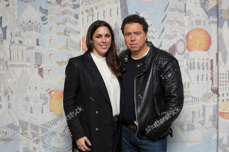 Stock Photo of Sacha Gervasi and Jessica de Rothschild