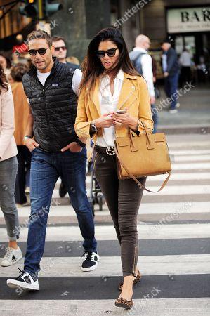Stock Photo of Daniela Ferolla and Massimiliano Ossini
