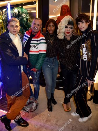 Blondey McCoy, Fat Tony, Honey Dijon, Jodie Harsh and Kyle De'volle
